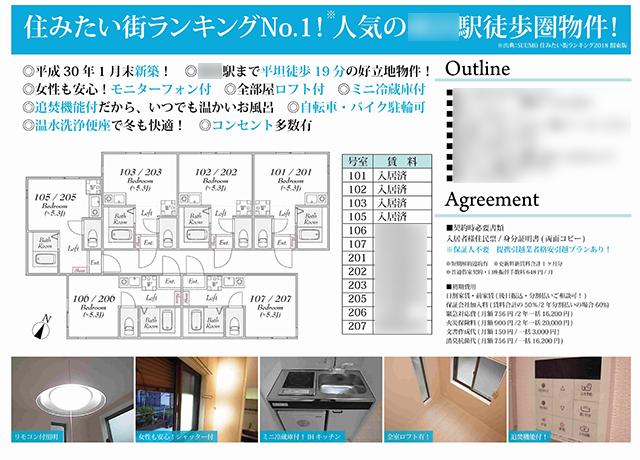 賃貸アパート(神奈川県横浜市西区)
