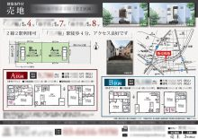 売地 マイソク(東京都荒川区)