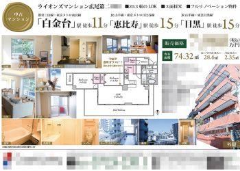 中古マンション マイソク(東京都渋谷区)