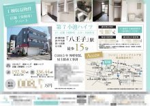 貸事務所・店舗 マイソク(東京都八王子市)