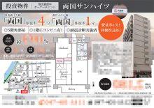 投資用マンション マイソク(東京都墨田区)