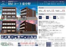 新築賃貸マンション マイソク(東京都中野区)